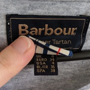 Barbour Tops - Barbour Summer Tartan Plaid Top
